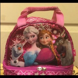 Other - Toddler girl Disney Frozen Lunch Bag new condition